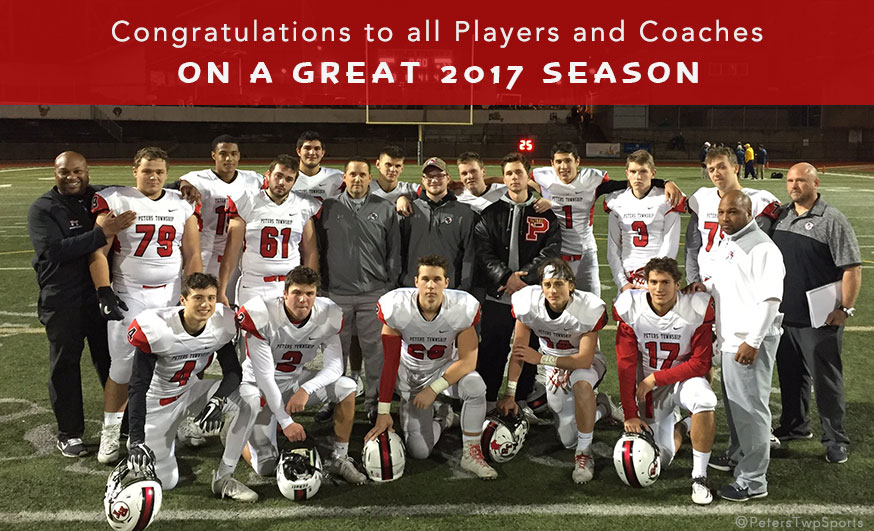 2017 PTHS Seniors and Coaches