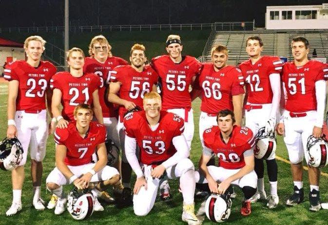 PTHS Football Seniors 2018